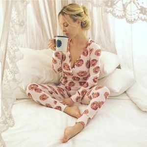 Wake Up For What? Donught Onesie Long Jane's Johns